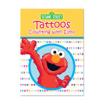 Counting w/ Elmo Tattoo Book