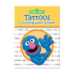 Counting w/ Grover Tattoo Book