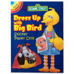 Dress Up w/ Big Bird Sticker Paper Doll Book