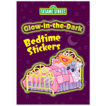 Sesame Street Glow-in-the-Dark Bedtime Sticker Book