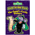 Glow-in-the-Dark Counts Castle Sticker Book