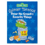 Oscar's Favorite Things Glitter Tattoos Book