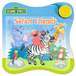 Elmo Safari Friends Book