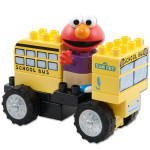 KNEX Elmo School Bus Building Set
