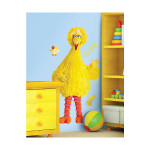 Big Bird Peel and Stick Wall Decal