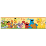 Sesame Street Peel and Stick Wall Border