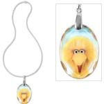 Big Bird Crystal Pendant Necklace