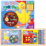 Big Bird's Box of Fun- Word Hunt Book