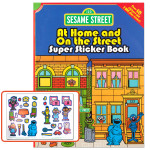 At Home and On the Street Super Sticker Book