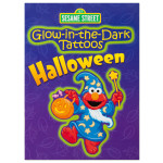 Glow-in-the-Dark Halloween Tattoo Book