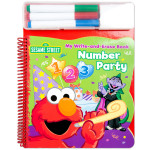Elmo Write & Erase Number Party Book