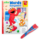 Elmo My Poingo Learning System Book