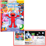 Imagine with Elmo: Magnetic Buddy Storybook