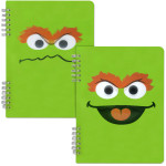 Oscar the Grouch Spiral Notebook