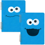 Cookie Monster Spiral Notebook