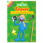 Grover Sticker Paper Doll Book