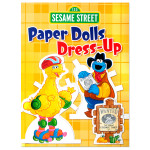 Sesame Street: Paper Dolls Dress-Up Book
