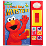 Elmo's It Must Be a Monster Book