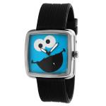 Cookie Monster Gun Metal Watch