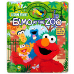 Elmo Who's at the Zoo? Book