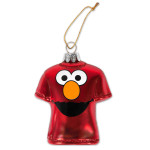 Elmo Big Face T-shirt Ornament