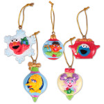 "Sesame Street Friends 1.75"" 2D Mini Ornament Pack"