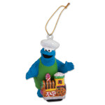 Cookie Monster Ginger Train Ornament