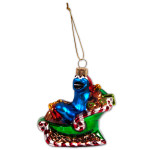 Cookie Monster Sleigh Ornament