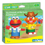 Sesame Street Best Friends At the Farm Building Set