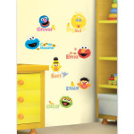 Sesame Street Scribble Peel & Stick Wall Decals