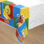Sesame Street 1st Birthday Tablecover