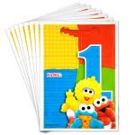 Sesame Street 1st Birthday Loot Bags