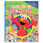 Sesame Street Lets Go to School! Book