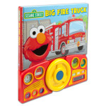 Sesame Street Big Fire Truck Book