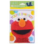Elmos Party Invitation & Thank You Cards