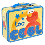Elmo Too Cool Large Tin Lunch Box