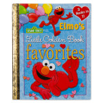 Sesame Street Elmo's Little Golden Book Favorites Hard Cover