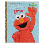 Sesame Street My Name is Elmo Hard Cover