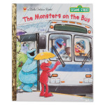 Sesame Street The Monsters on the Bus Hard Cover