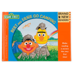 Sesame Street Bert and Ernie Go Camping Hard Cover