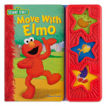 Sesame Street Move with Elmo Interactive Book