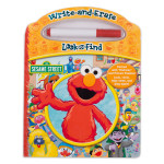 Sesame Street Look and Find Write-and-Erase