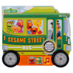 Sesame Street Bus Shaped Vehicle Play-a-Sound Book