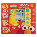Sesame Street 3 Set Interactive Book Series