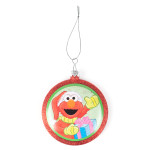Sesame Street Elmo Shatterproof Glass Ornament