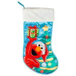 "Elmo 19"" Applique Stocking"