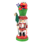 Elmo Nutcracker 12""