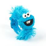 Cookie Monster Big Face Furry Watch