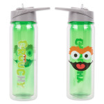 Sesame Street Oscar the Grouch 18 oz. Tritan Water Bottle