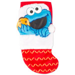 Cookie Monster Applique Stocking